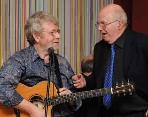 Pete Atkin with Clive James